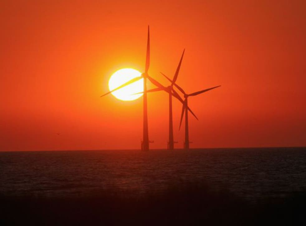 Business and Energy Secretary hails decision as a marker of Britain's status as 'a global leader in offshore wind'