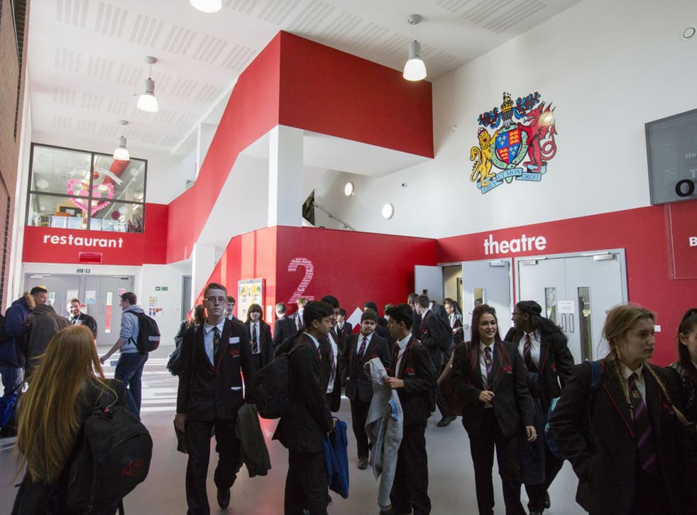 King Edward VI Sheldon Heath Academy is ninth in a list of 55 similar schools throughout the UK