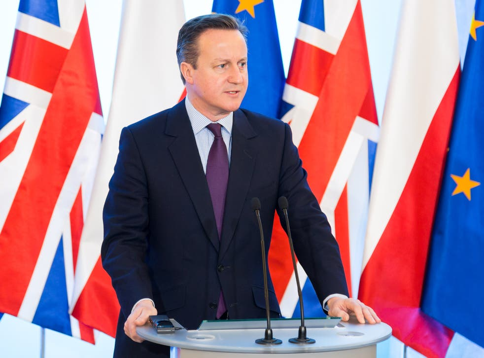 """David Cameron will demand a """"legally binding, irreversible decision thatwould deliver fundamental changes"""" in Britain's relationship with Brussels"""