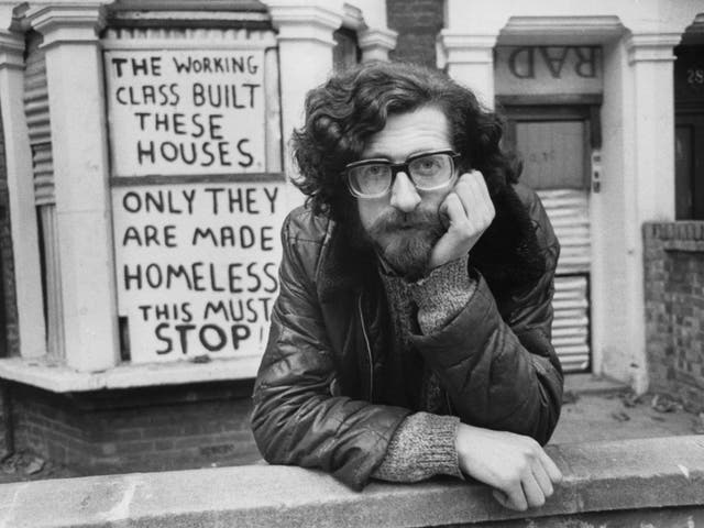 Piers Corbyn, brother of Jeremy, then campaigning on housing, in 1975