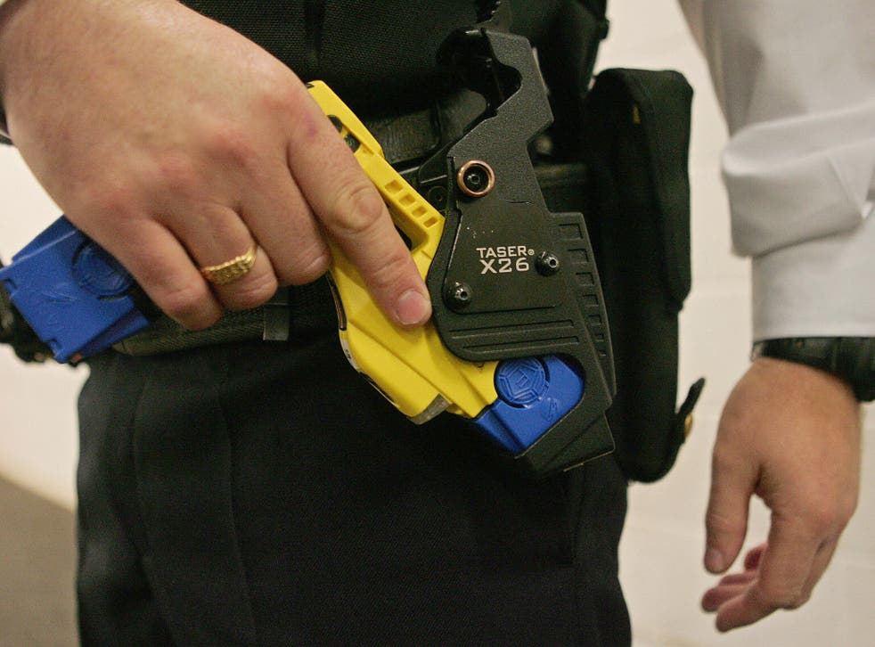 British police started using Tasers in 2003
