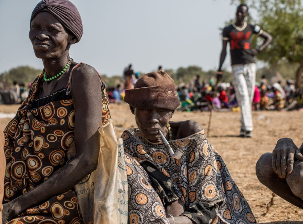 Famine is threatening the lives of 40,000 people in Nyal