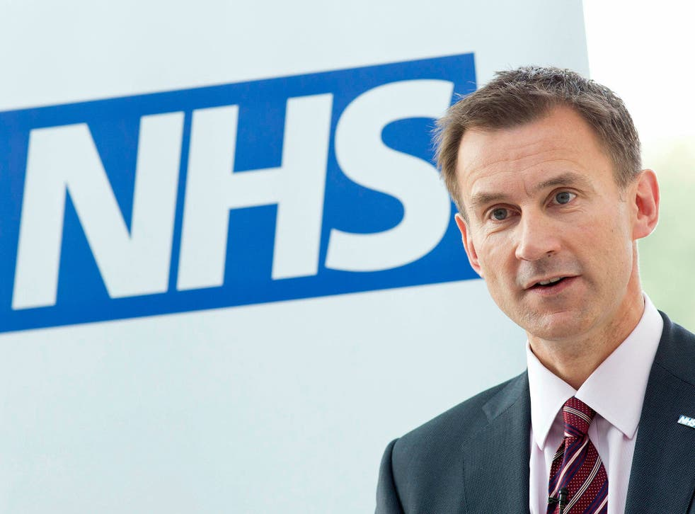 Jeremy Hunt rejected claims he was responsible for harm done during the NHS strike