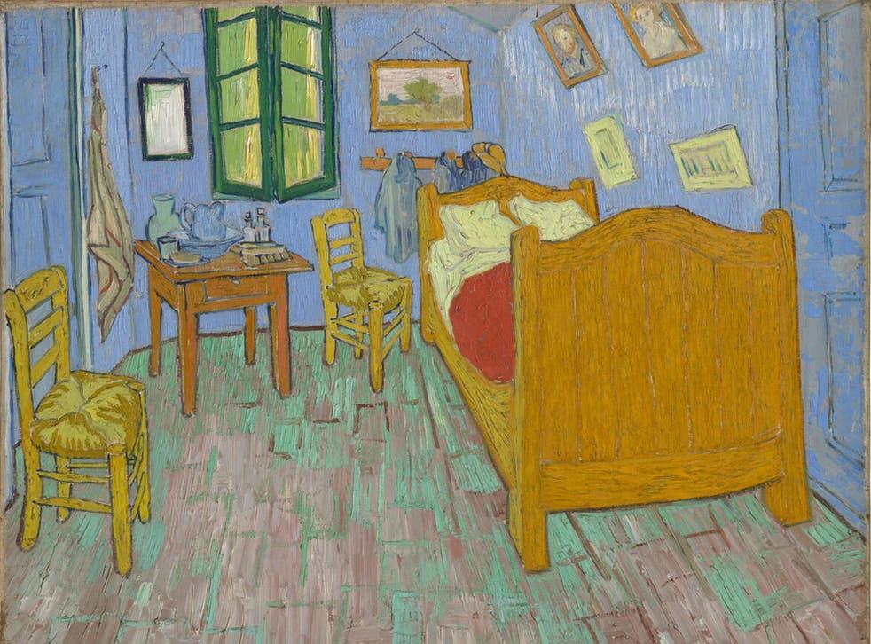 Vincent van Gogh's 'The Bedroom'