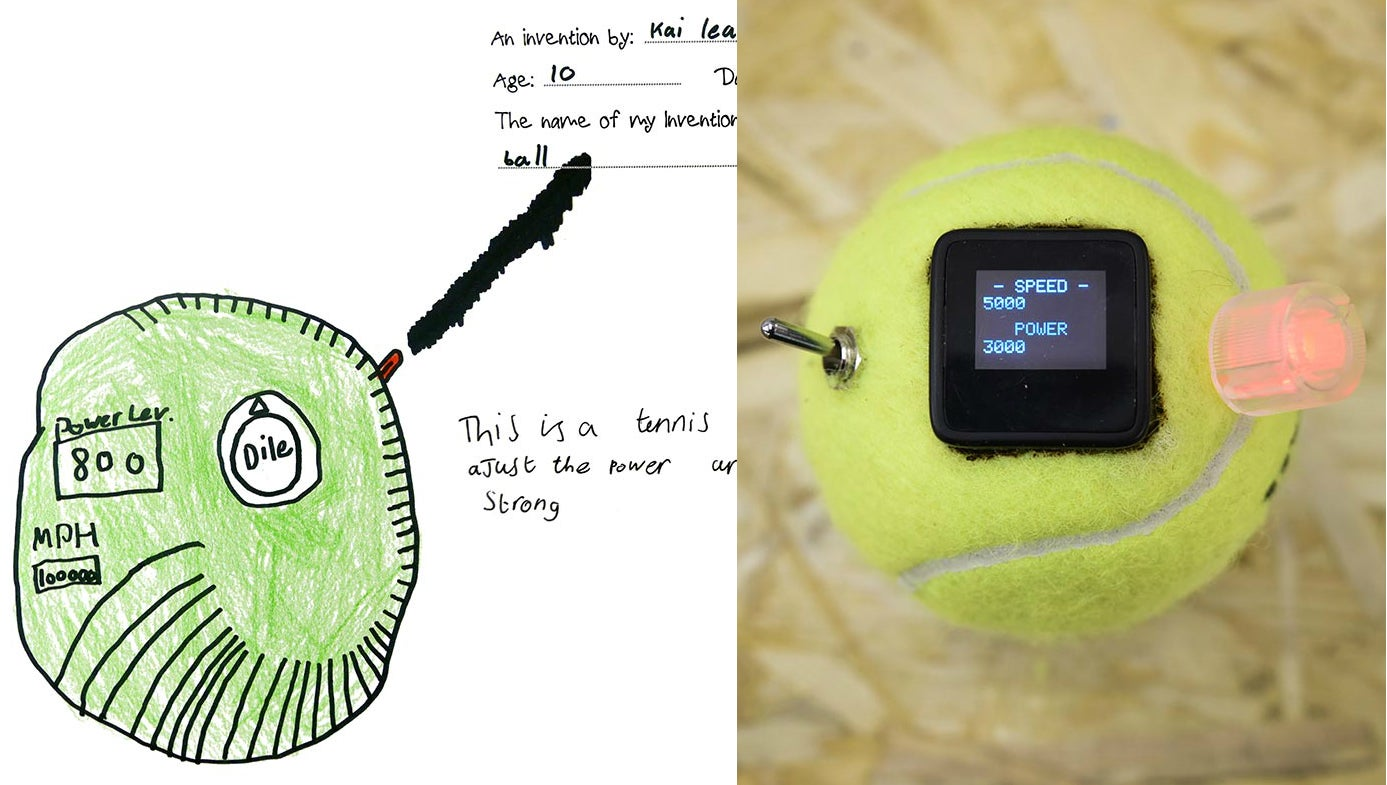 Engineers asked children to come up with useless inventions then actually made them