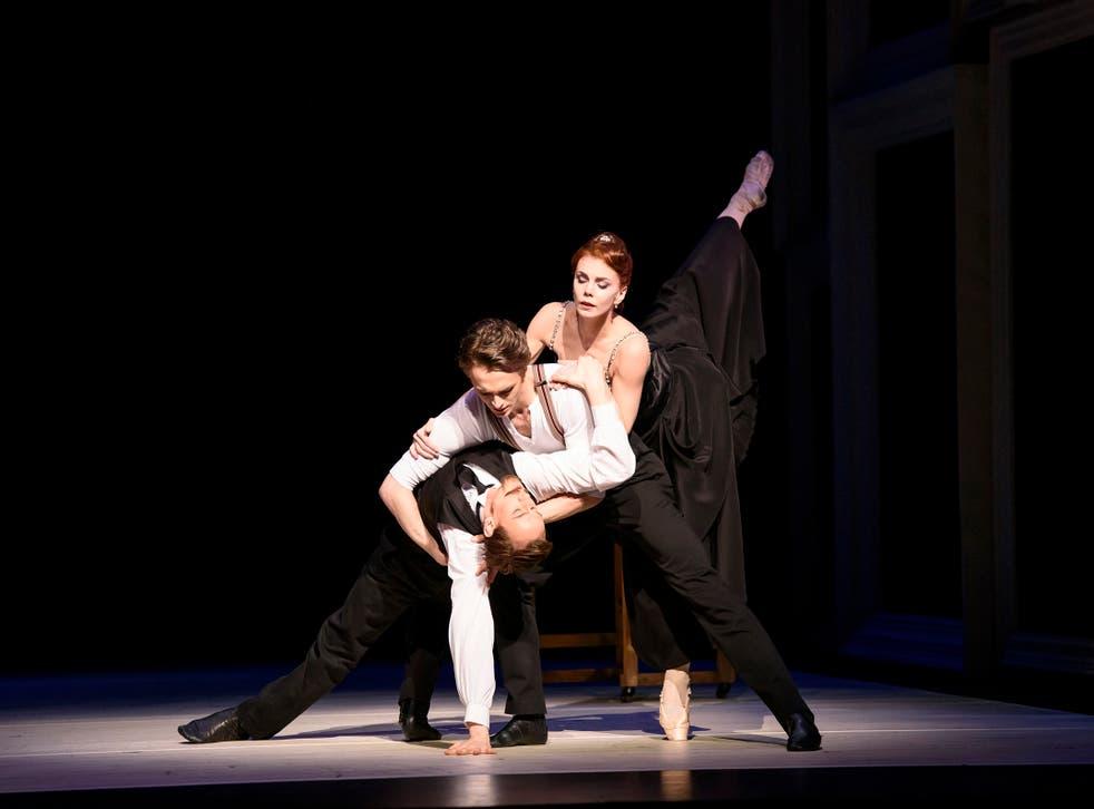 Strapless. Edward Watson, Matthew Ball and Natalia Osipova