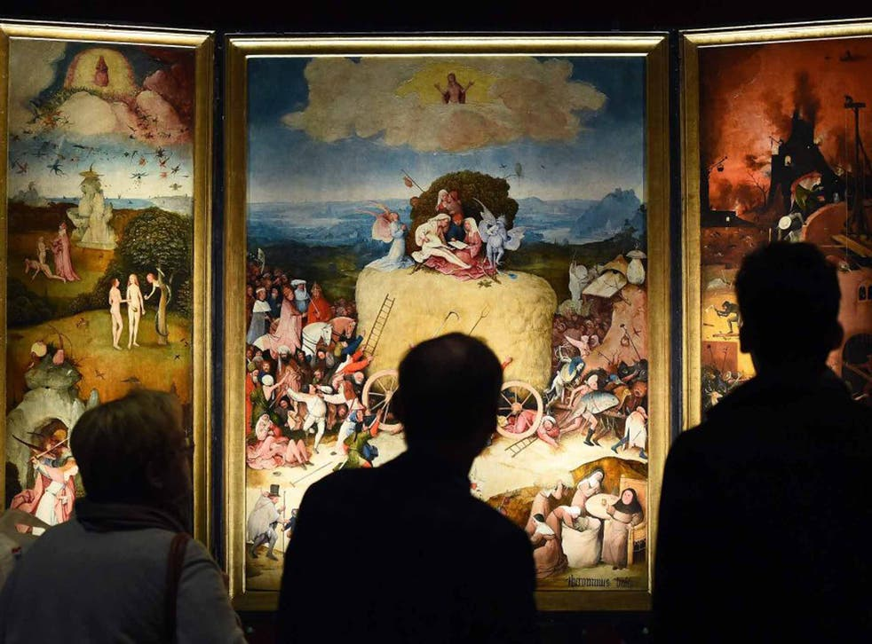'The devil's painter': vistors to the exhibition in Bosch's hometown puzzle over the dizzying cast of unearthly characters