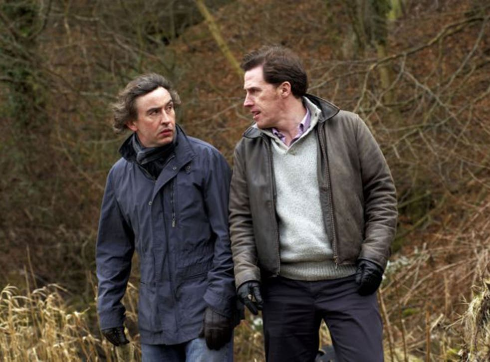 Steve Coogan and Rob Brydon in BBC's 'The Trip'