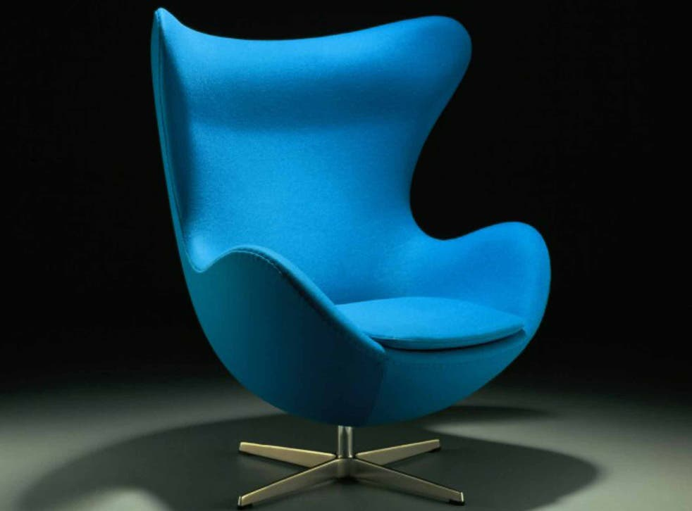 The Egg chair is currently out of copyright