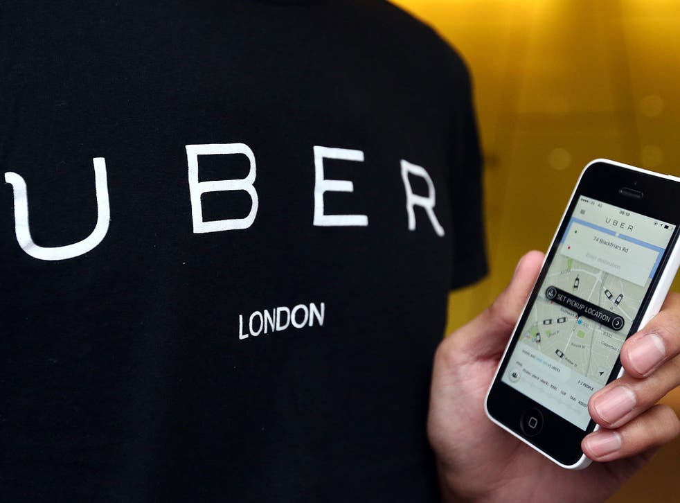 Uber is used by more than 30,000 drivers, labelled as self-employed partners across the UK in 15 towns and cities, with more than 1.5 million regular passengers in London