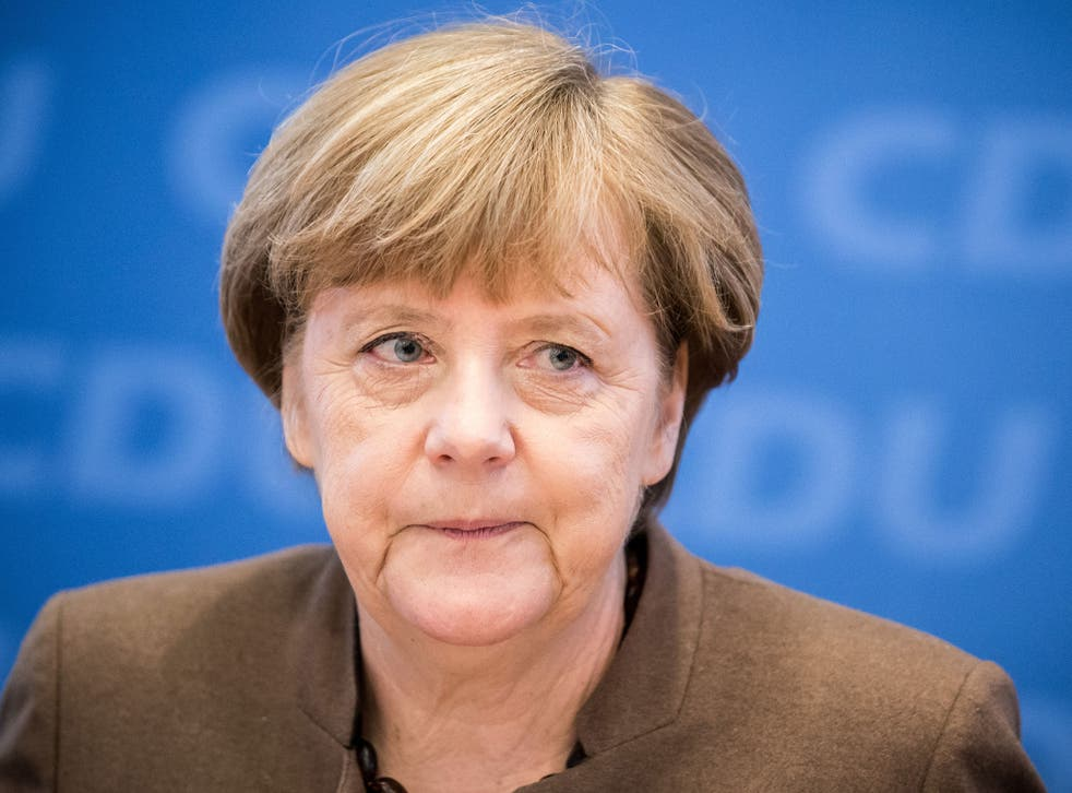 Angela Merkel has said she now favours a no-fly zone being imposed in Syria