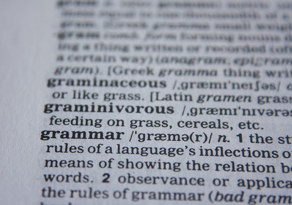 9 Embarrassing Grammar Mistakes And How To Avoid Them The Independent