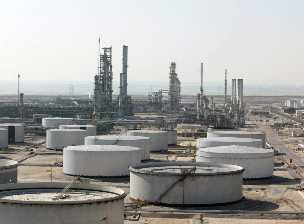 Ras Tannura's oil production plant, Saudi Arabia