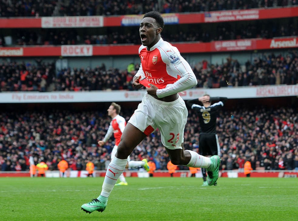 Danny Welbeck S Goal Vs Leicester The Most Talked About Moment On Twitter This Season Who Else Makes The Top 10 The Independent The Independent