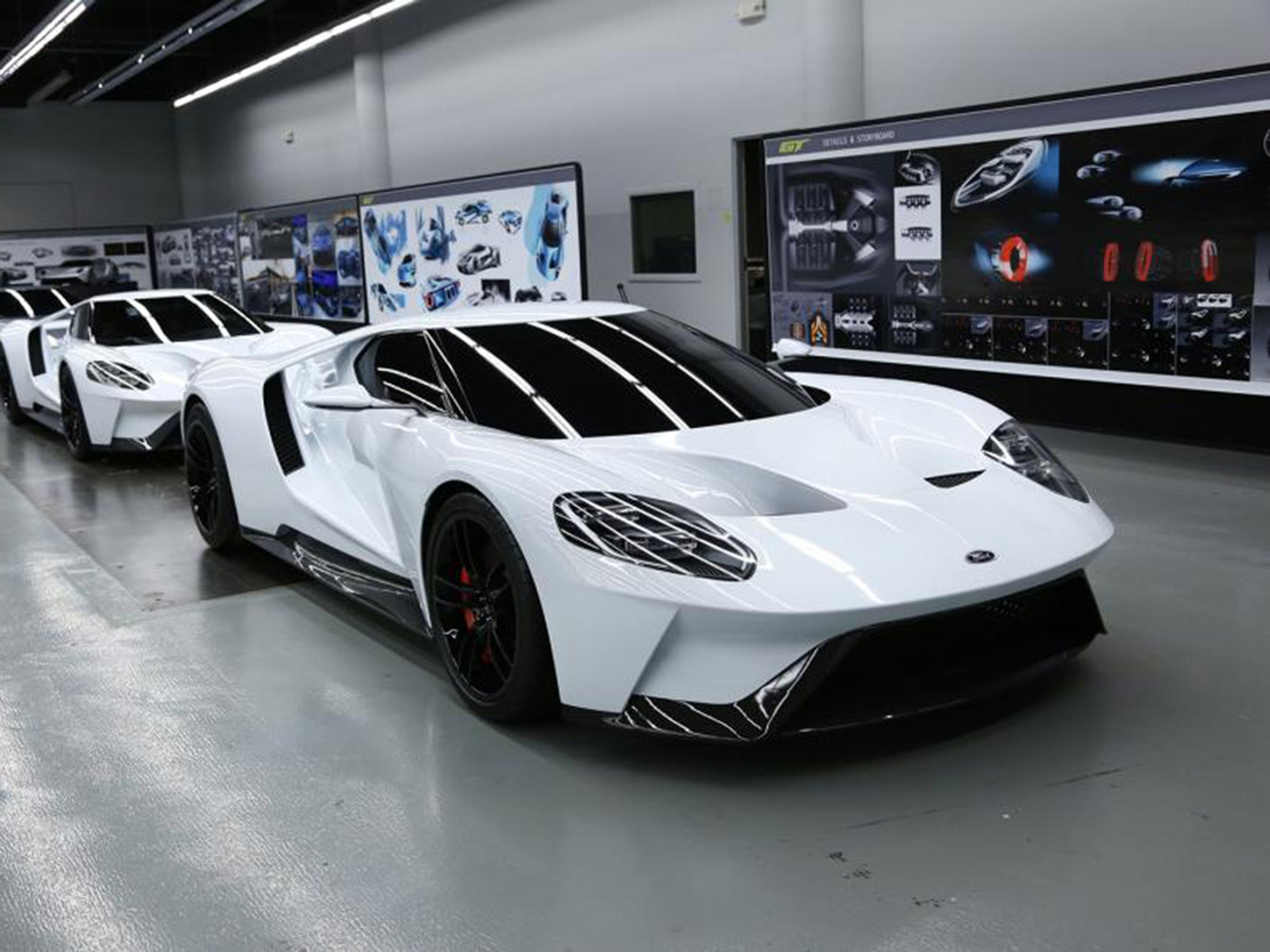 Ford GT secrets revealed: Discovering the genesis of new Ford Le Mans car | The Independentindependent_brand_ident_LOGOUntitled