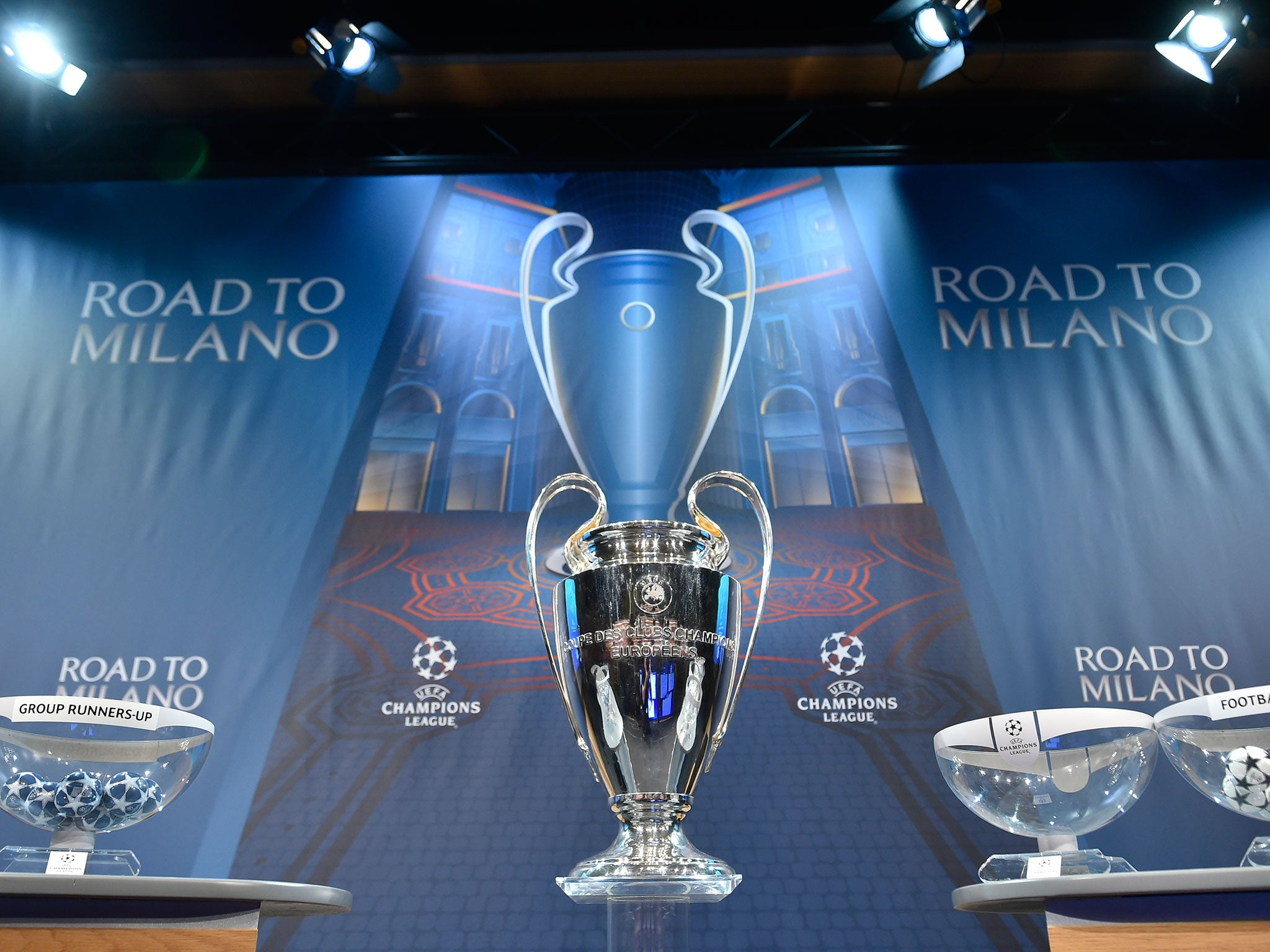 Champions League draw live stream: How to watch group stage draw online and on TV today thumbnail