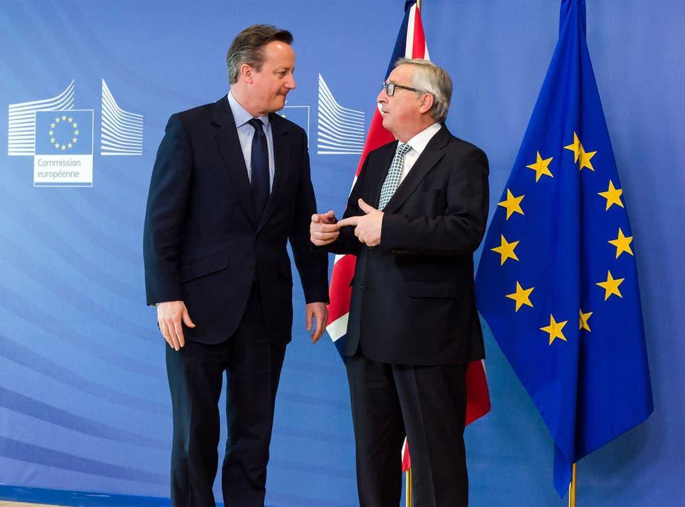Jean‑Claude Juncker said Britain exiting the EU was not an option