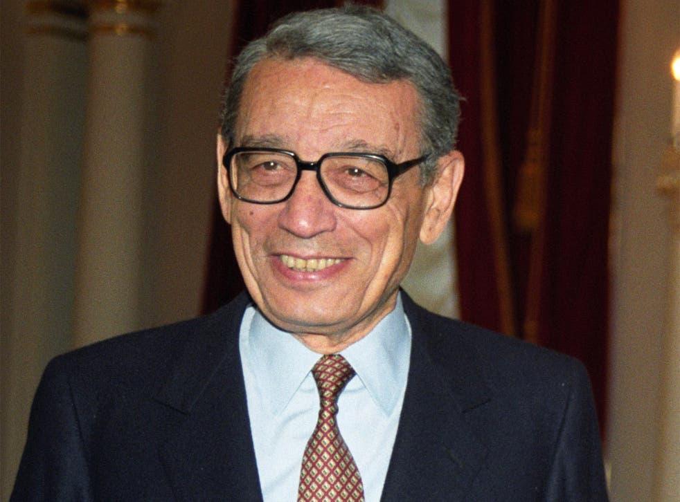 Boutros Boutros-Ghali, former UN Secretary-General, who has died aged 93