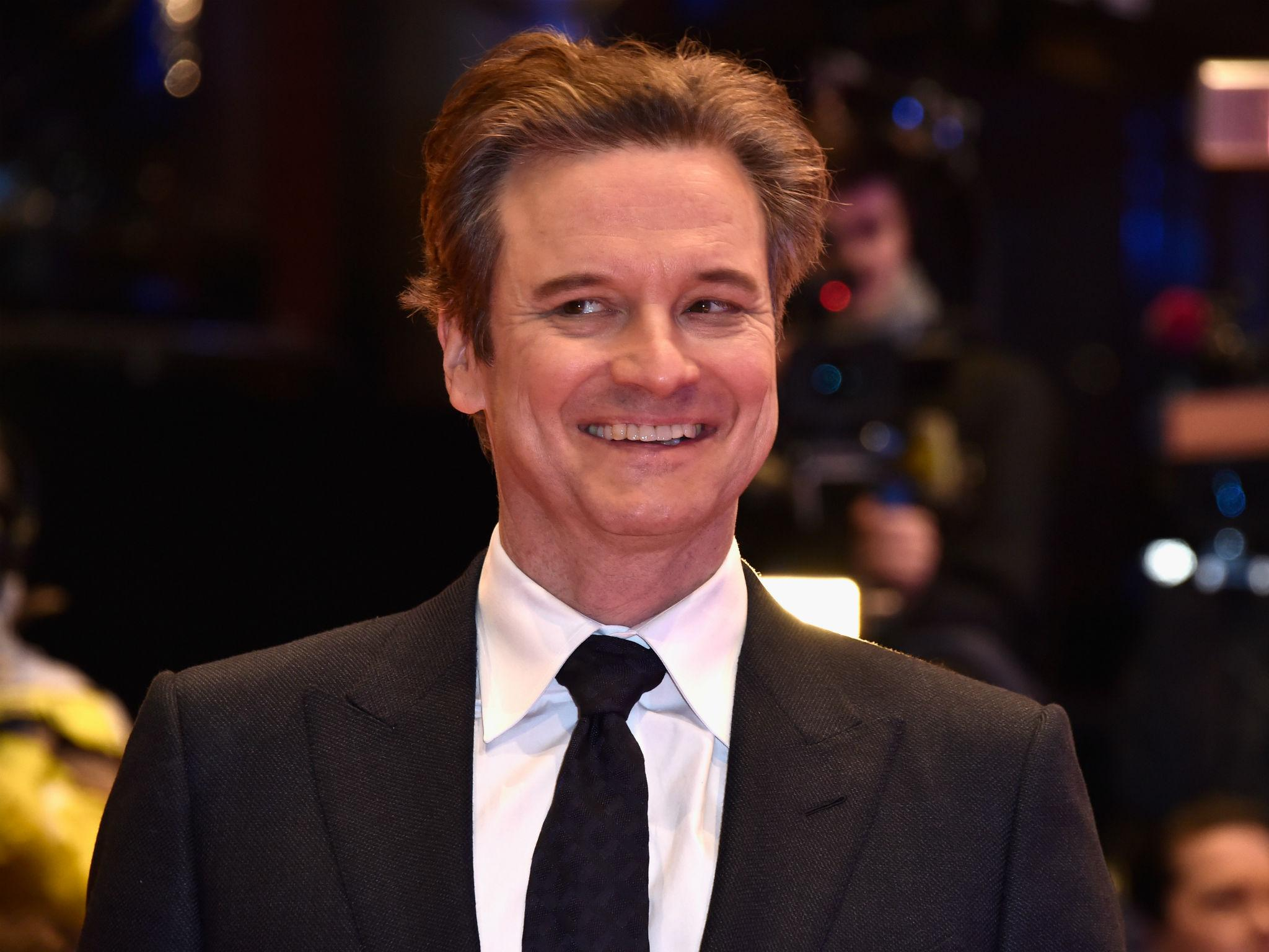 Colin Firth officially...