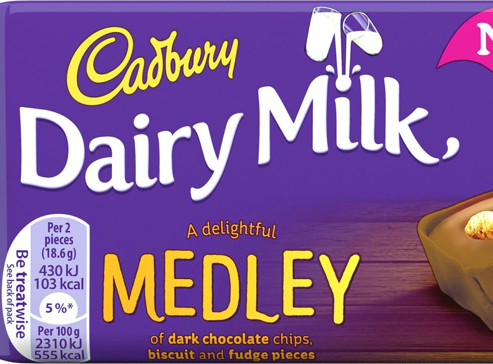 The chocolate-maker has added two new medley bars to its Dairy Milk range