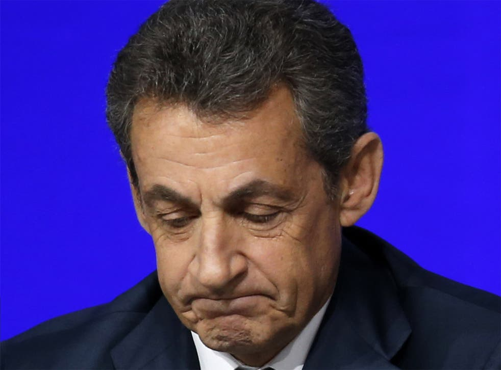 Nicolas Sarkozy is accused of overspending in his previous election campaign