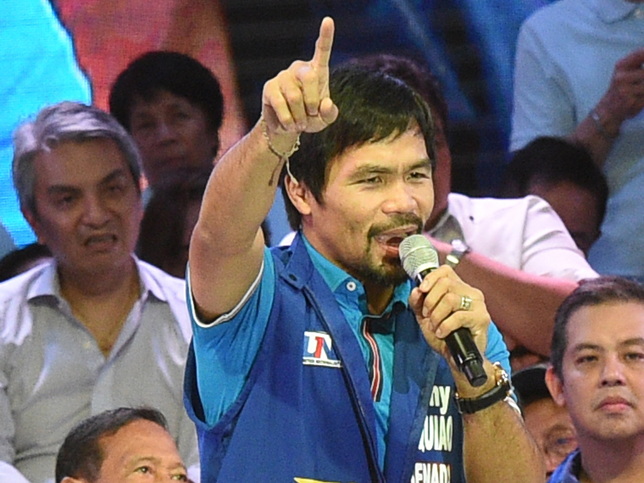 Nike terminates deal with Manny Pacquiao