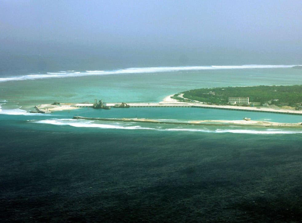 Woody Island in the Paracels, where China has deployed missiles