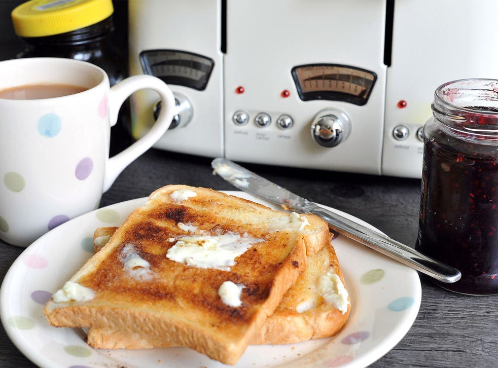 The Great British tradition of tea and toast is in decline, data suggests