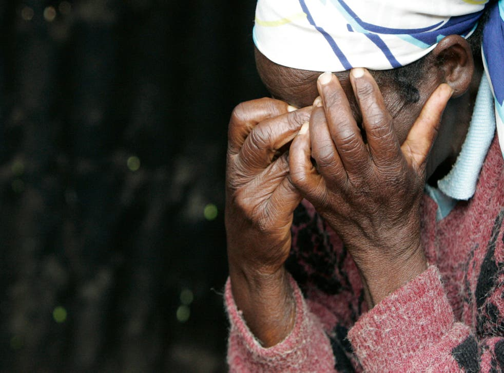 A Kenyan woman mourns during violence which broke out during and after 2007 elections. The ICC say much of it was planned by opposition parties.