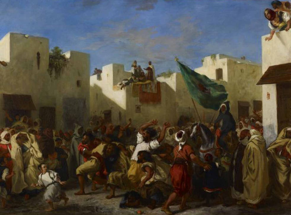 'The Convulsionists of Tangier'