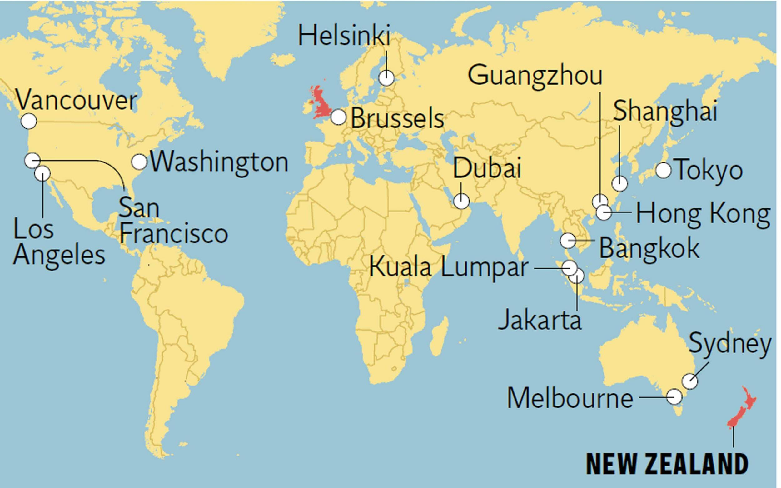 Is Emirates\' new non-stop route from Dubai to Auckland the ...