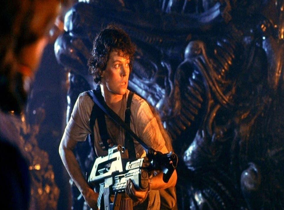 Sigourney Weaver as Ellen Ripley in 'Aliens'