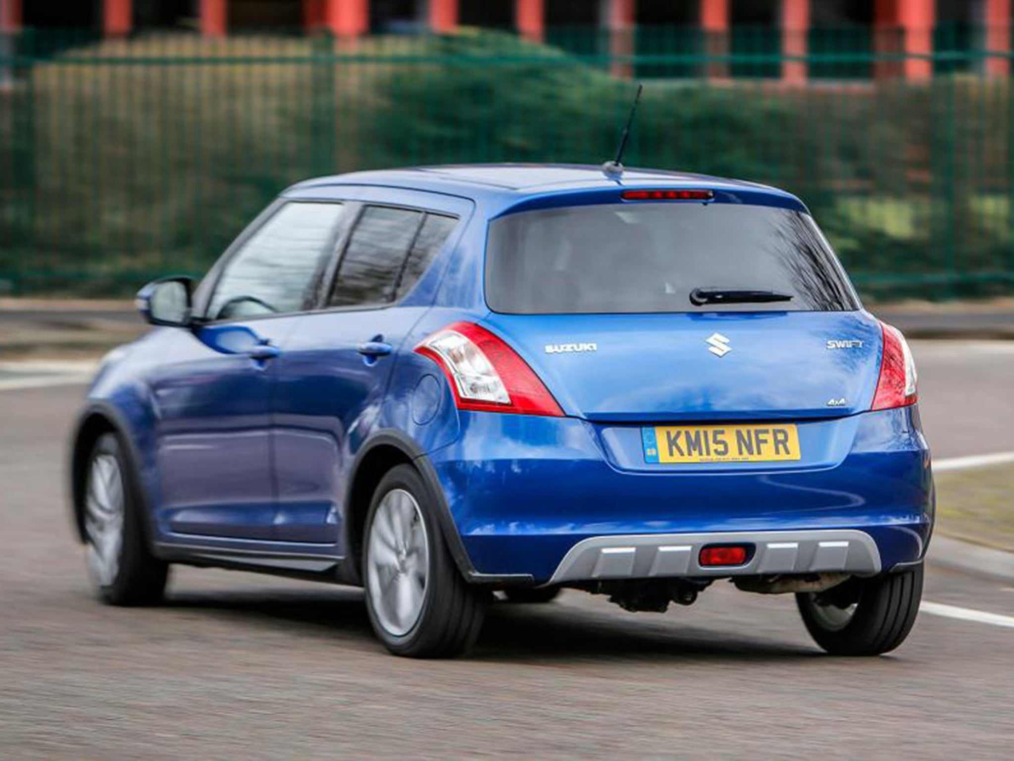 Suzuki Swift 1 2 SZ4 4x4 Dualjet, car review: All-wheel