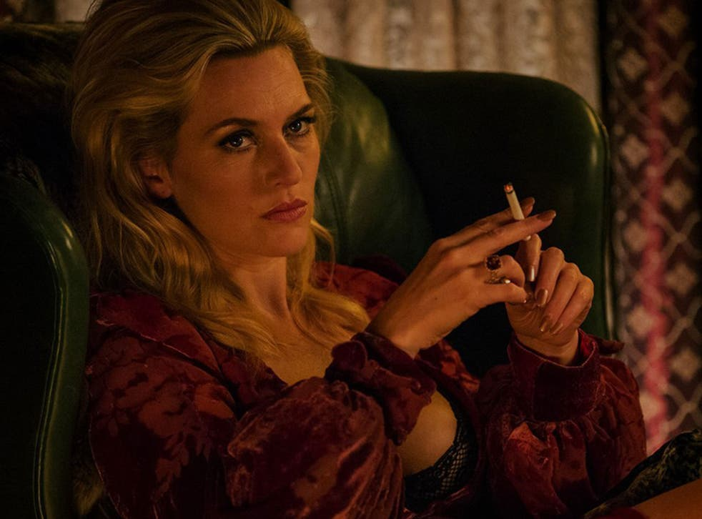 Kate Winslet plays Irina Vlasov with a thick Russian accent