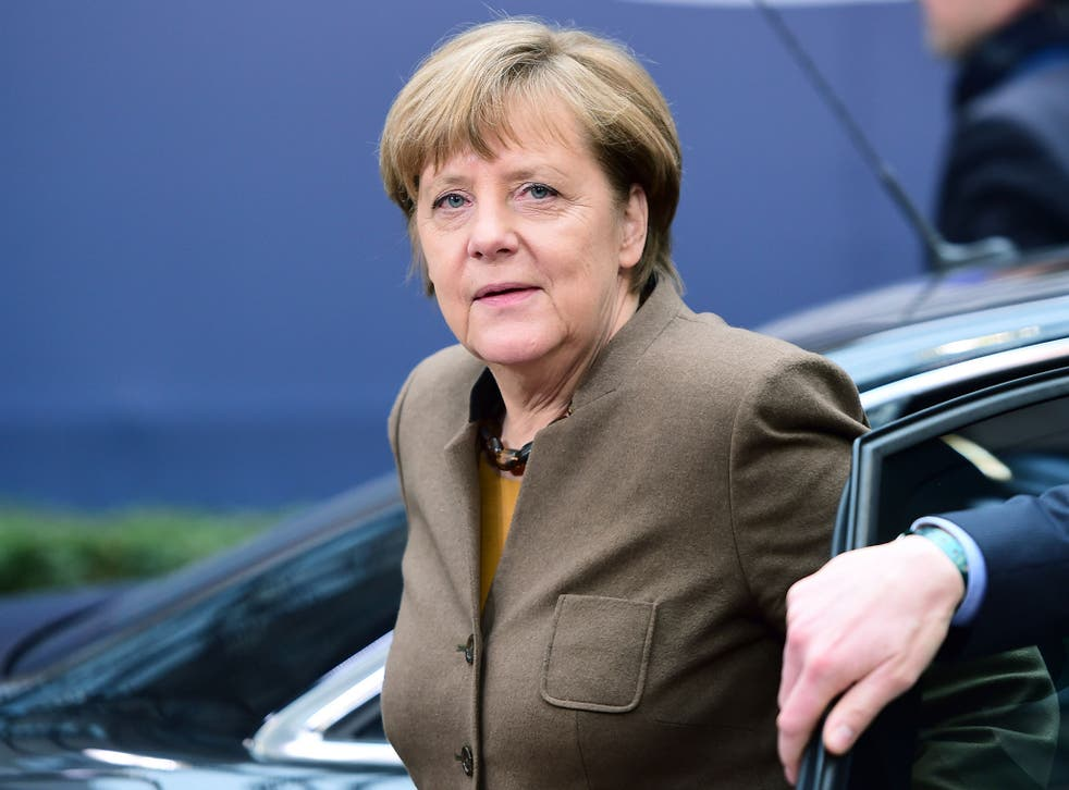 Angela Merkel is pushing for a deal with Turkey aimed at slowing the flow of refugees