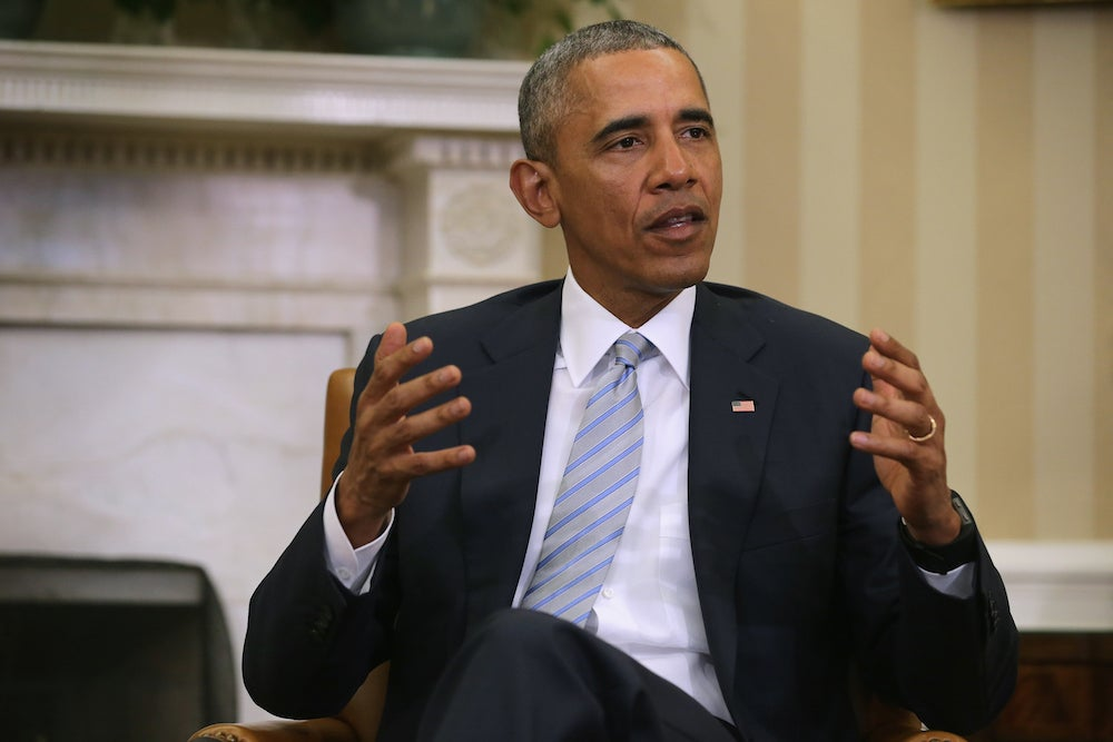 Obama meets with Black Lives Matter activists and civil rights leaders