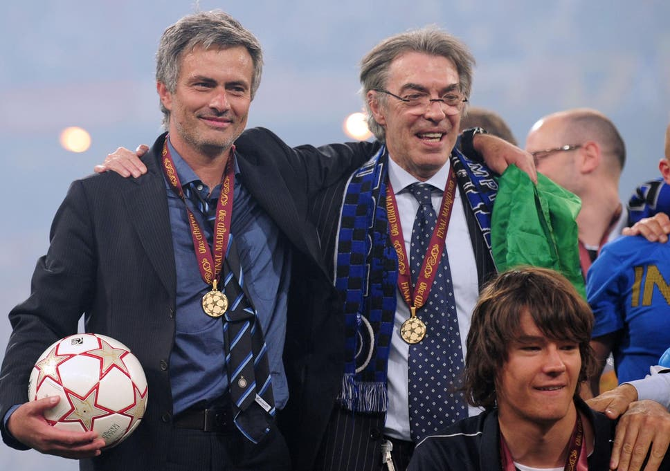 Image result for mourinho inter milan champions league