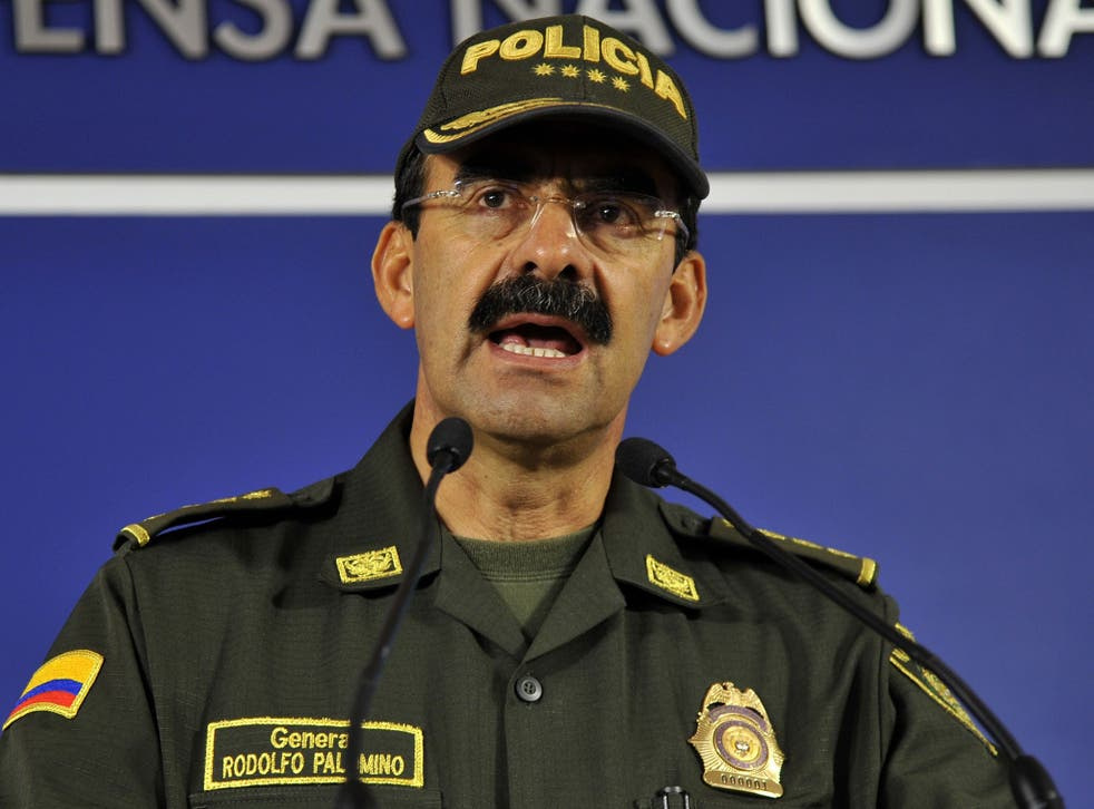 Police captain General Palomino resigned over allegations of misconduct