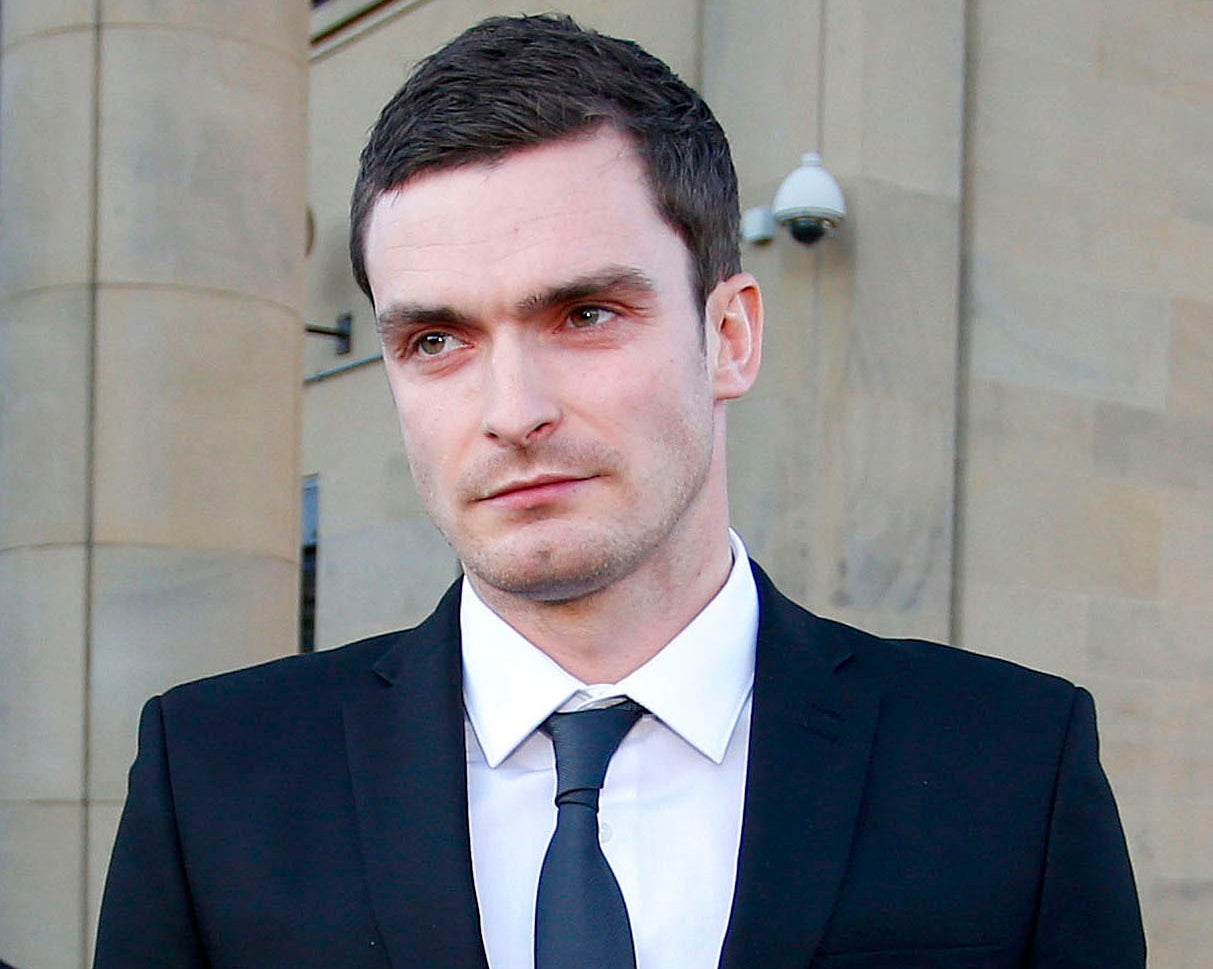 adam johnson: 15-year-old girl filmed secret video of footballer