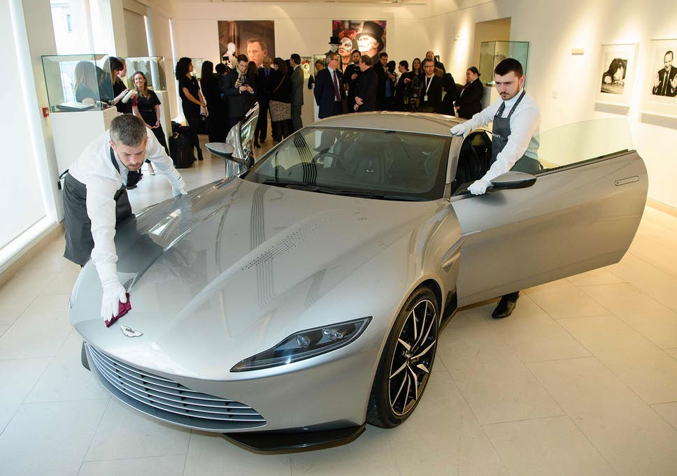 Aston Martin DB From Spectre Sells For Million At Auction - Aston martin db 10