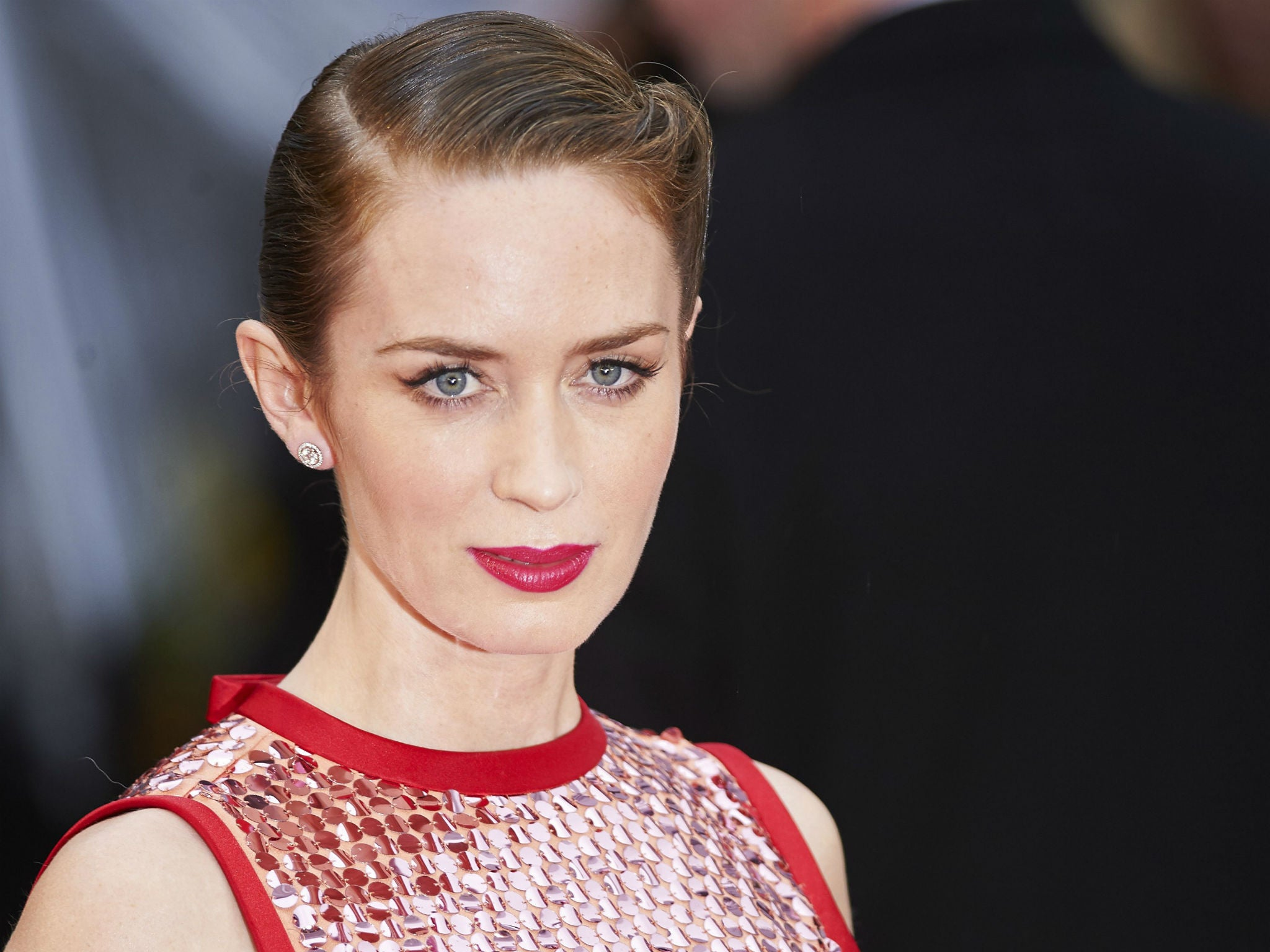 Emily Blunt on why she...