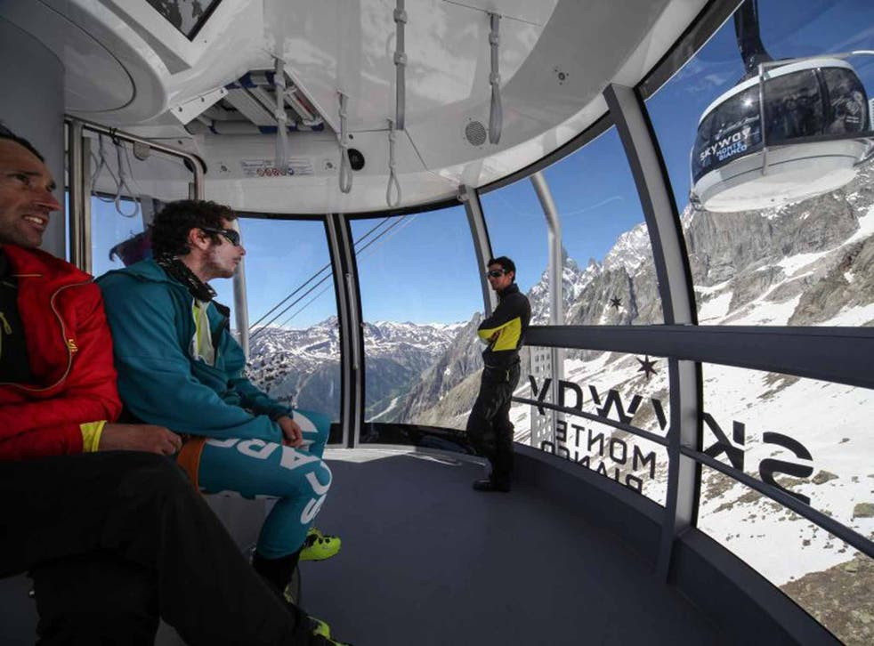 Mountain view: the new SkyWay Monte Bianco