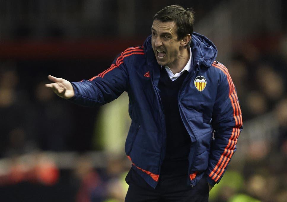 ผลการค้นหารูปภาพสำหรับ Off Script | Gary Neville on sacking season in English football