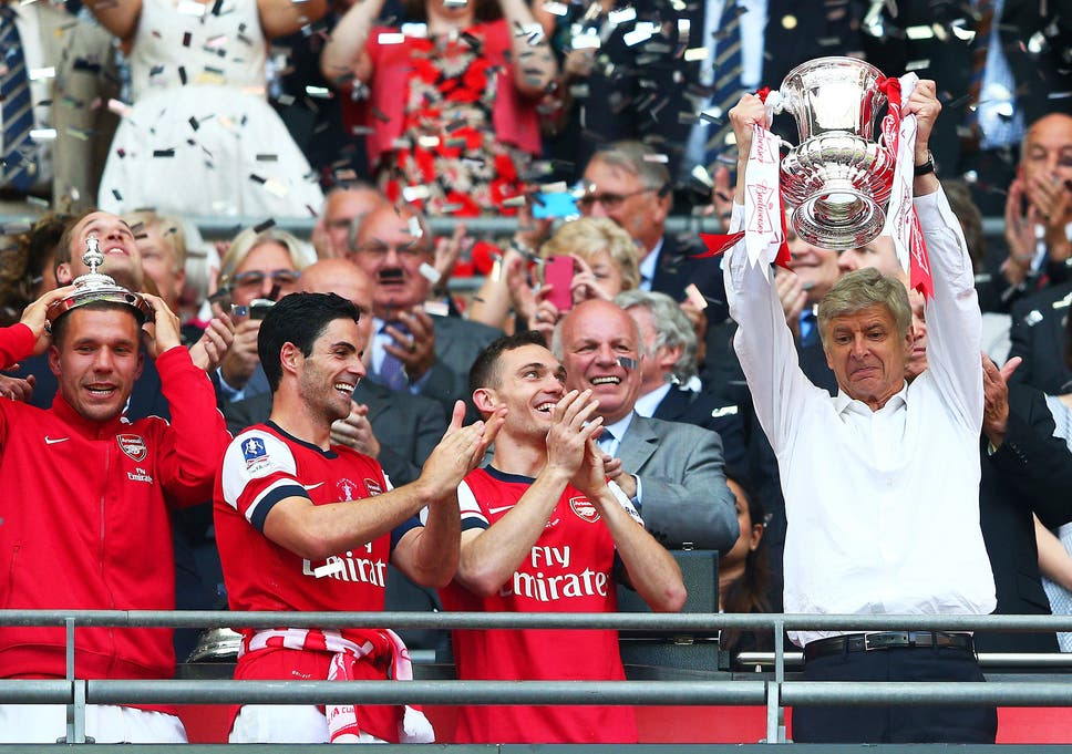 87c35dc0b75 Arsenal vs Hull  Arsene Wenger reveals he could have left Gunners if they  hadn t won the 2014 FA Cup final