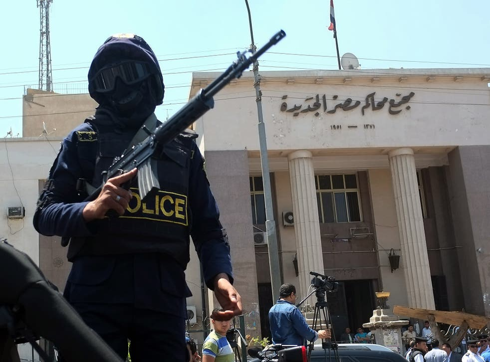 Egyptian courts have been cracking down on dissenters since the coup in 2013
