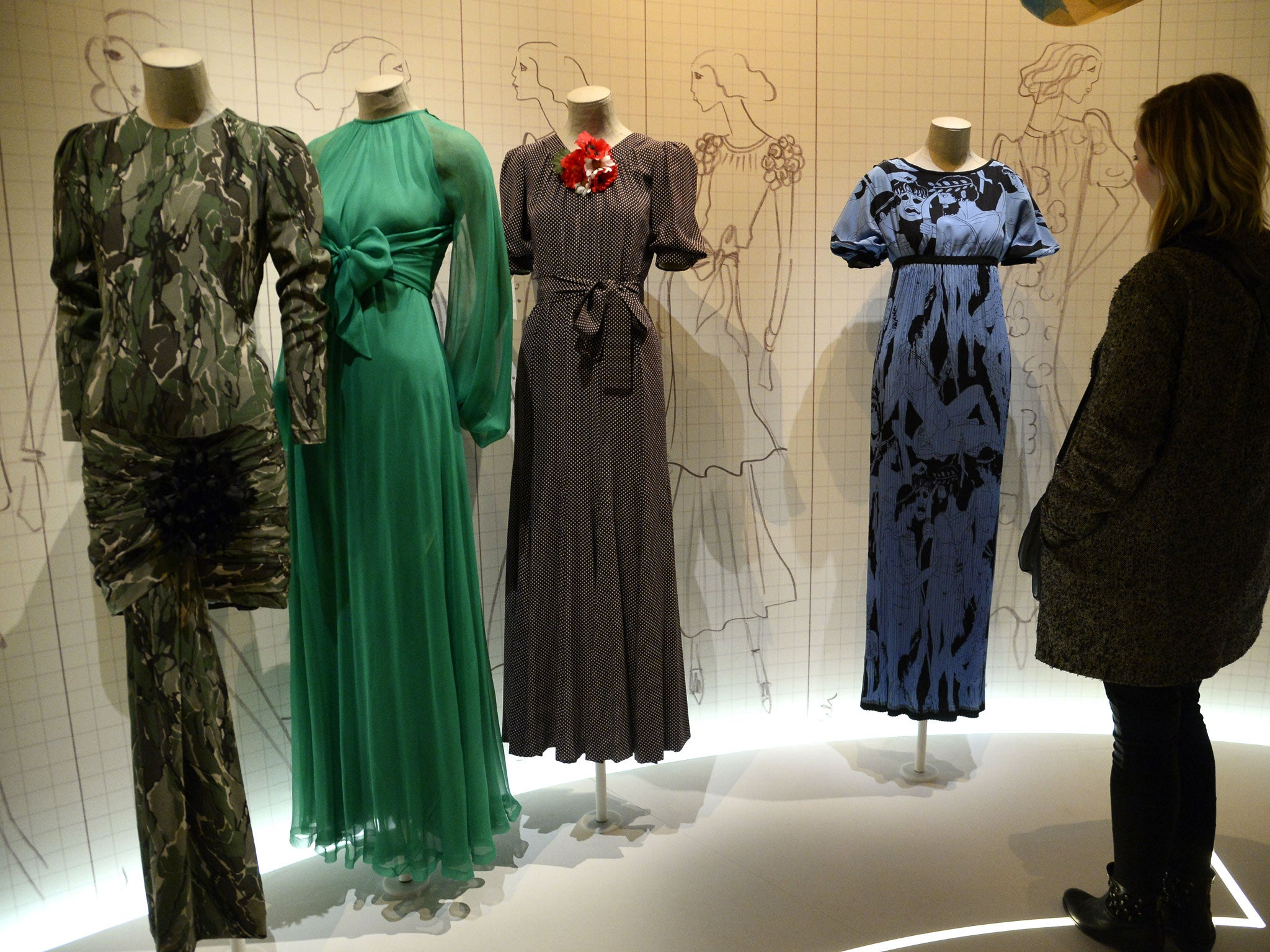 0028377def5 Yves Saint Laurent's 1971 collection shocked the world - but changed the  direction of fashion | The Independent