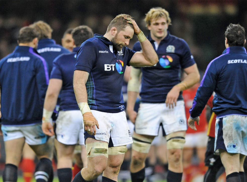 John Barclay made a mess of a break against Wales last weekend