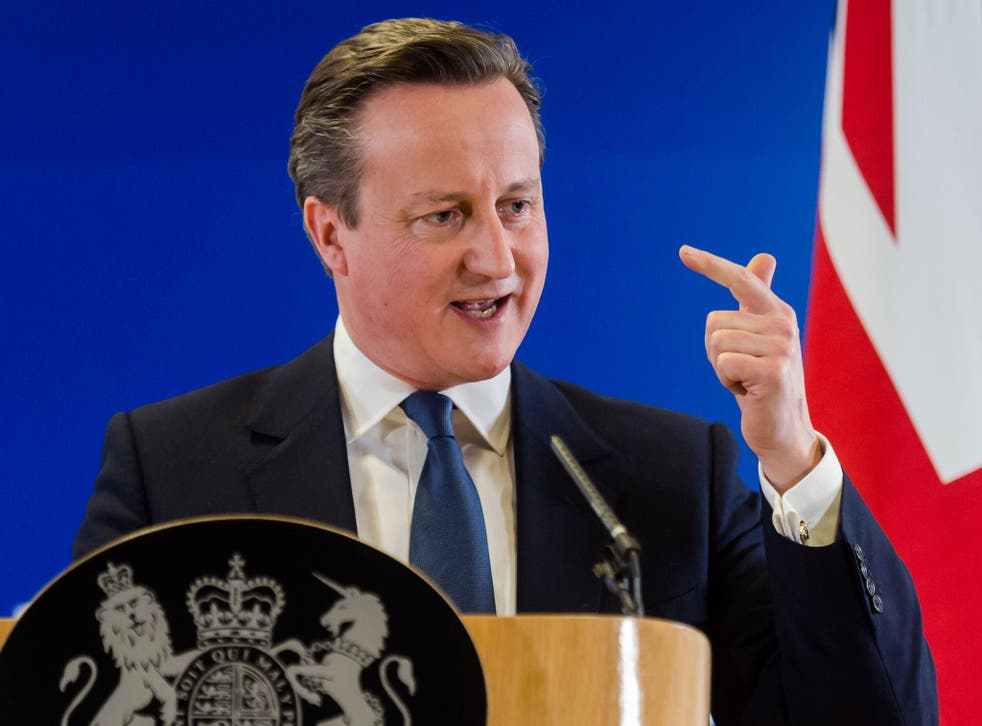 David Cameron had to compromise on child benefit