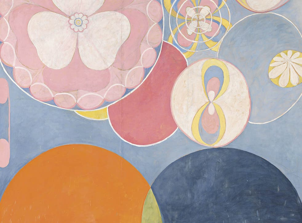 Af Klint's absence from the art historical canon will bring her the distinction of being the earliest-born artist honoured with a show at London's Serpentine Gallery