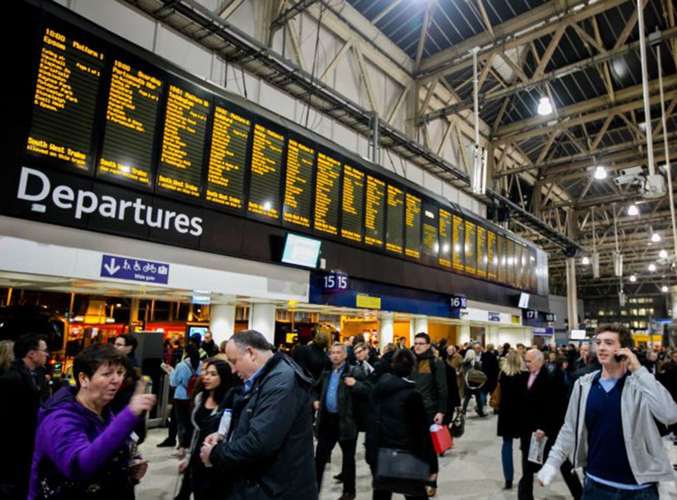 St Pancras railway station in London already retail concessions